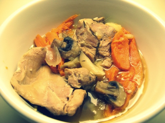 Sweet Potato and Chicken Stew